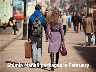 Shimla manali packages in february