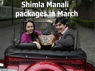 Shimla manali packages in march